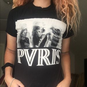 Pvris white noise shirt